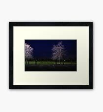 You Will Be Tripped Up By People When your Resolution Is Lax Framed Print