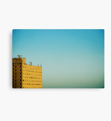 There Is Weakness In Perfect Clarity Canvas Print