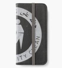 Keep it clean iPhone Wallet/Case/Skin