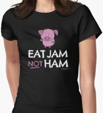 "Vegan T-Shirt ""Eat Jam Not Ham"" T-Shirt"