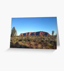 Uluru in its splendor Greeting Card