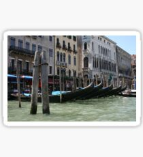 Gondolas Sticker