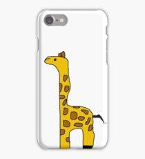 goofy girraffe iPhone Case/Skin