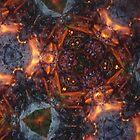Fractal Fire Dances n°3 by edend