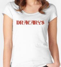 Dracarys - Game of Thrones Daenerys Women's Fitted Scoop T-Shirt