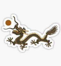 CHINESE DRAGON GREEN Sticker