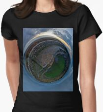 Winter Solstice Dawn over Grianan, Donegal, Ireland Women's Fitted T-Shirt