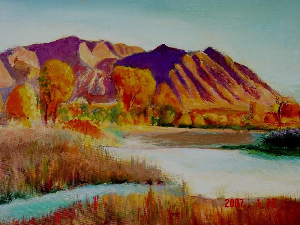 New Mexico Fall by ralphvog