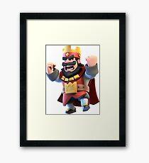 Clash royal Framed Print
