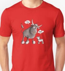 Bull and Bulldog comic Unisex T-Shirt