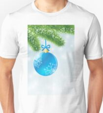 Christmas Blue Ball T-Shirt