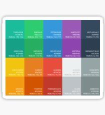 Flat UI Colors Sticker