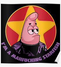 Mahf*cking Starfish Poster