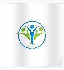 Community Logo Poster