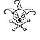 BoZo Skull and Crossbones by Nik Usher
