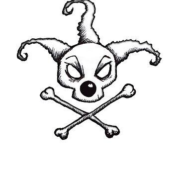 BoZo Skull and Crossbones by averybadbear