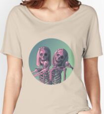 Siamese Twins  Women's Relaxed Fit T-Shirt