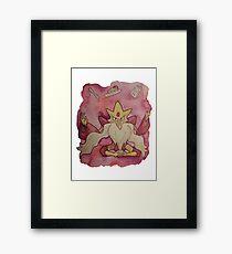 Mega Alakazam Framed Print