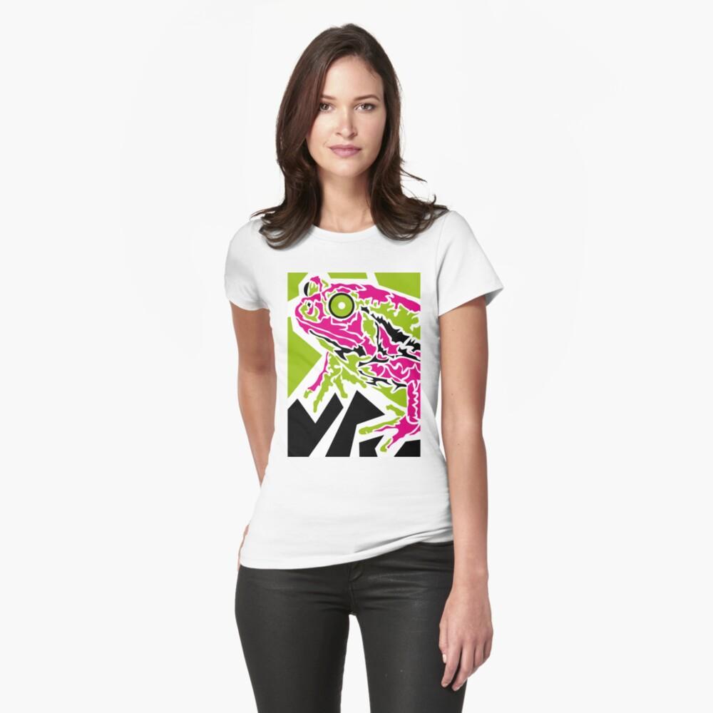 Frog Frauen T-Shirt Vorne