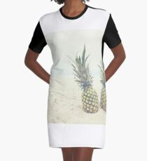 Pineapple 02 T-Shirt Kleid