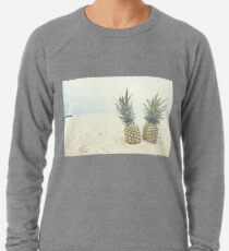 Pineapple 02 Leichtes Sweatshirt
