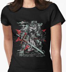 Black Templars Womens Fitted T-Shirt