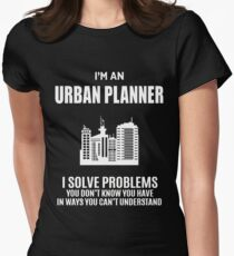 URBAN PLANNER  Womens Fitted T-Shirt