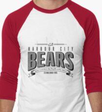 HCB Bar-bear-shop Men's Baseball ¾ T-Shirt
