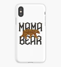 Gold Mama Bear for Mother's day iPhone Case/Skin
