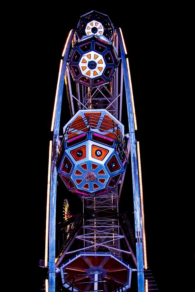 Ferris Wheel Buckets by Chris Clark