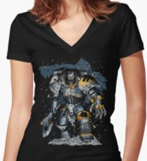 Space Wolves Women's Fitted V-Neck T-Shirt