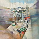 Brixham Slipway, South Devon by Bernard Barnes