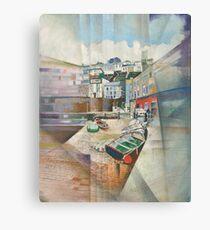 Brixham Slipway, South Devon Canvas Print