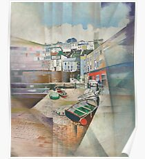 Brixham Slipway, South Devon Poster