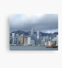 Hong Kong Canvas Print