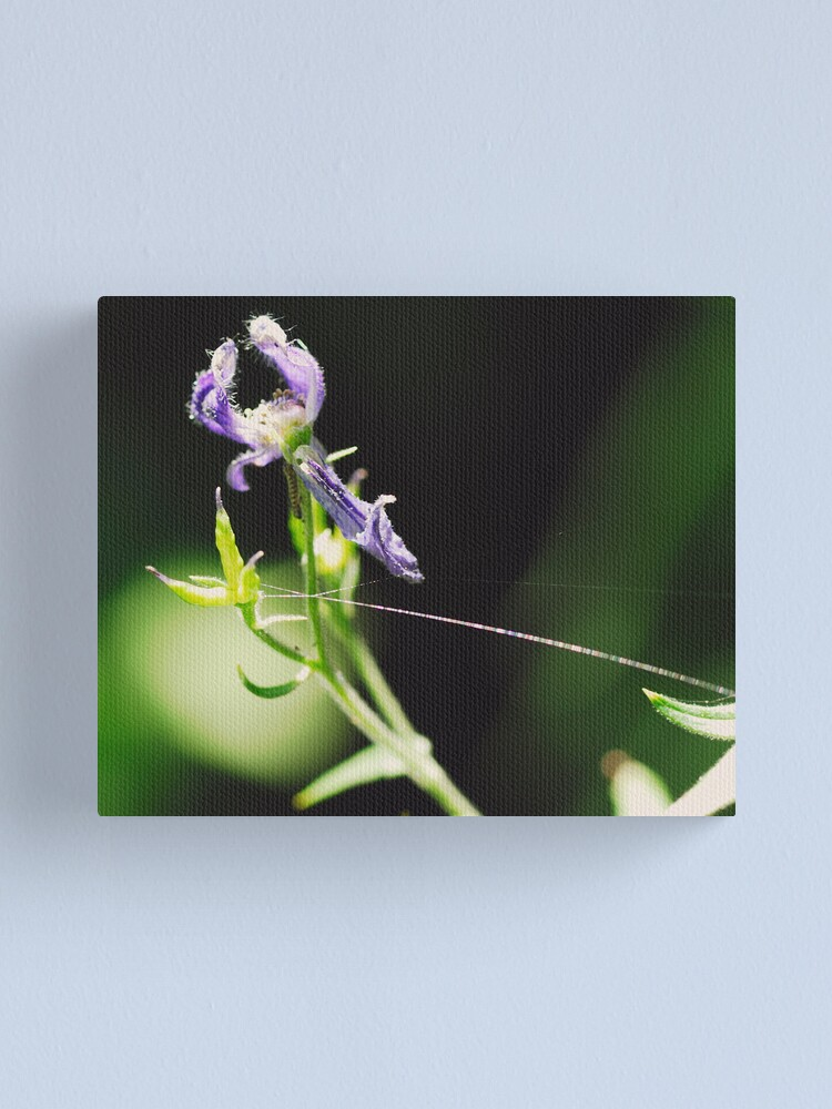 Alternate view of Tied to You by a Shiny Thread Canvas Print