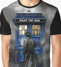 Mysterious man in the mist Graphic T-Shirt