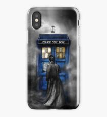 Mysterious man in the mist iPhone Case/Skin