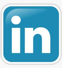 Linkedin icon Sticker