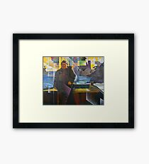 Dartmouth Castle Ferryman Framed Print