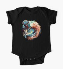 time travel box jump into dark vortex Kids Clothes