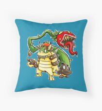 Big Bad Bullies Throw Pillow