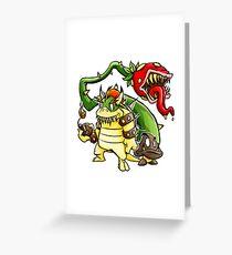 Big Bad Bullies Greeting Card