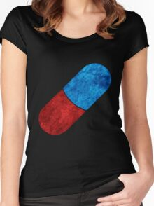 The Capsules symbol Women's Fitted Scoop T-Shirt
