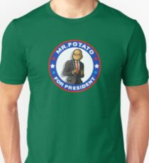 Potato President Unisex T-Shirt