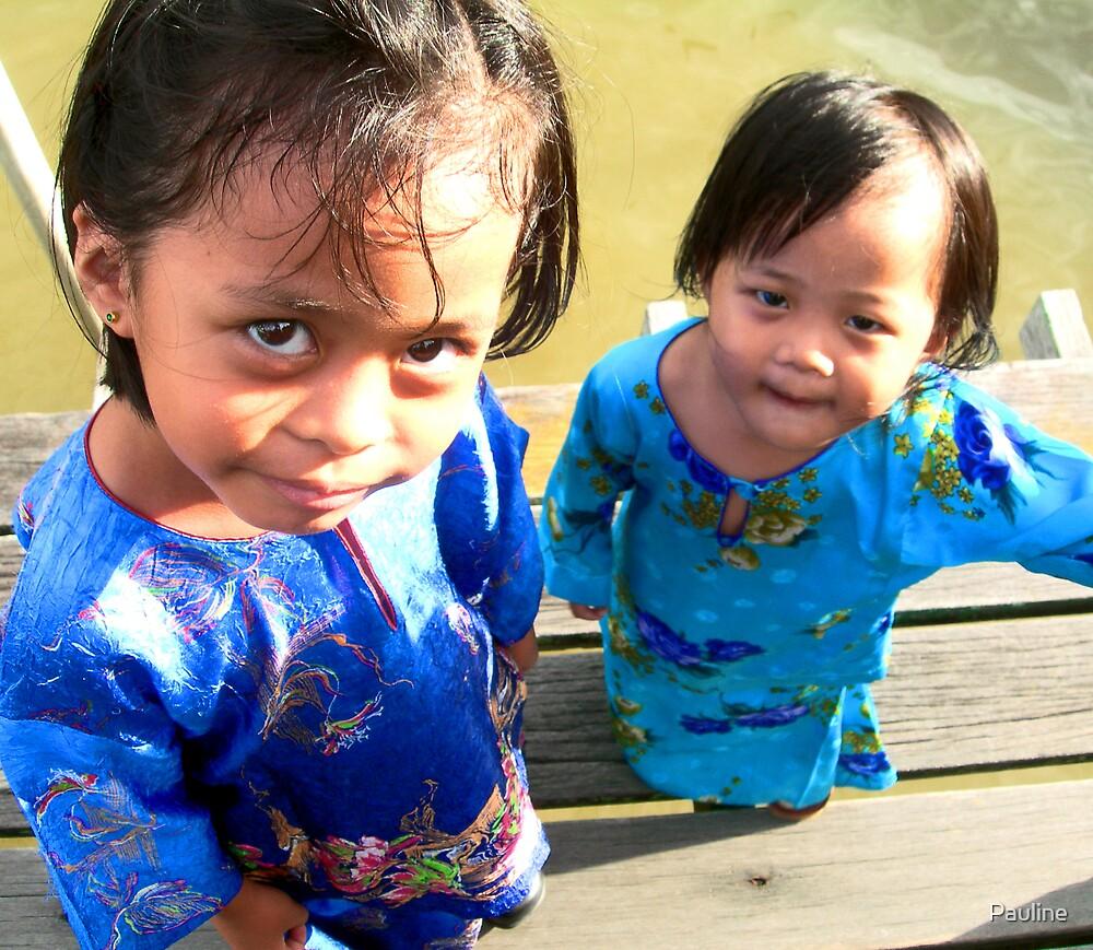 Kampong kids by Pauline