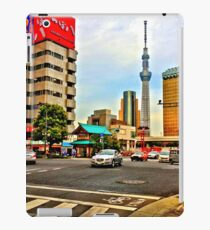 Asakusa Intersection HDR iPad Case/Skin