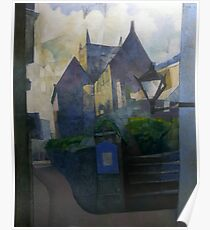 St Saviour Church, Dartmouth, South Devon Poster
