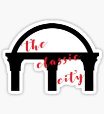 the classic city Sticker
