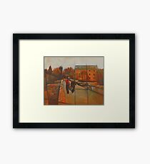 Staverton Mill Canoeing Framed Print